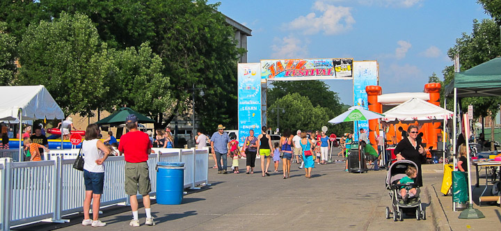 Summer Fun in Iowa City – Iowa City Jazz Festival 2014